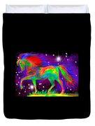 Another Rainbow Stallion Duvet Cover