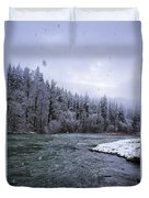 Another Snowy Day Duvet Cover