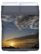 Another Socal Summer Sunset Duvet Cover