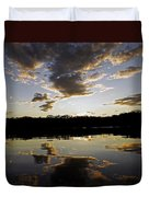Another Sunset In The Jungle Duvet Cover