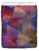 Another Time - Square Version Duvet Cover