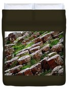 Another View Of The Giant's Causeway Duvet Cover