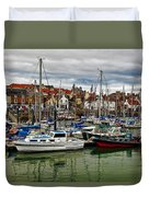 Anstruther Harbour Duvet Cover