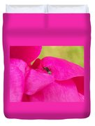 Ant On Pink Duvet Cover