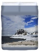 Antarctic Wilderness... Duvet Cover