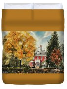 Antebellum Autumn Ironton Missouri Duvet Cover