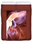 Antelope Canyon Colorful Waves Duvet Cover