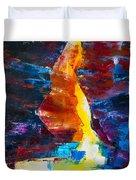 Antelope Canyon Light Duvet Cover
