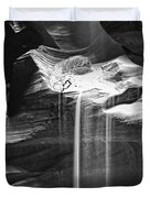 Antelope Canyon Sand Fall Duvet Cover