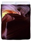 Antelope Canyon Sandstone Magic Duvet Cover