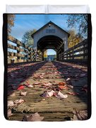 Antelope Creek Bridge Duvet Cover