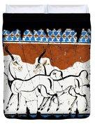 Antelope Of Akrotiri Duvet Cover