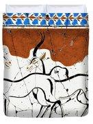 Antelope Of Akrotiri - Study No. 2 Duvet Cover