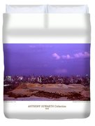 Anthony Howarth Collection - Gold - Golden Mine Dumps - South Africa Duvet Cover