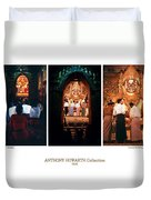 Anthony Howarth Collection - Gold - Simply Buddha? Mandalay Duvet Cover