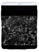 Anthracite Flickering Of The Black Atlas Duvet Cover