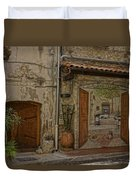 Antibes France Scene Paintings Dsc02278  Duvet Cover