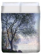 Antibes Seen From The Salis Duvet Cover