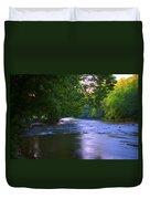 Antietam Creek - Hagerstown Maryland Duvet Cover