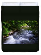 Antietam Creek - Maryland Duvet Cover