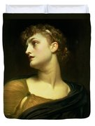 Antigone Duvet Cover by Frederic Leighton