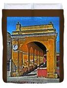 Antigua Arches Duvet Cover