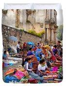Antigua Guatemala Duvet Cover