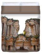 Antigua Ruins Duvet Cover