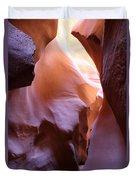 Antilope Canyon Colors Duvet Cover