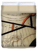 Antiquaria Nautica Duvet Cover