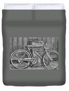 Antiquated Bike Duvet Cover
