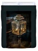 Antique Carriage Lamp Duvet Cover