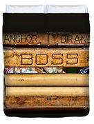 Antique Clothes Wringer Anchor Brand Duvet Cover
