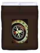 Antique Compass Duvet Cover
