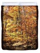 Antique Fall Duvet Cover