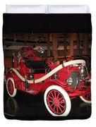Antique Fire Engine Duvet Cover