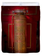 Antique Fire Extinguisher Duvet Cover