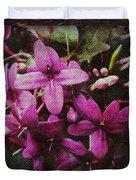 Antique Floral  Duvet Cover