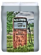 Antique Gas Pump 1 Duvet Cover