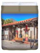 Antique Gas Station Duvet Cover