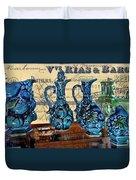 Antique Glass Duvet Cover