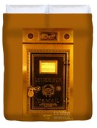 Antique Letter Box At The Brown Palace Hotel Duvet Cover