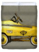 Antique Pedal Car Lll Duvet Cover