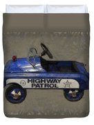 Antique Pedal Car V Duvet Cover by Michelle Calkins