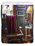 Antique Rocking Chair Duvet Cover