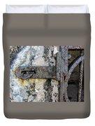 Antique Textured Metalwork Gate Duvet Cover