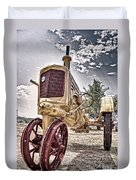 Antique Tractor Duvet Cover by Tamyra Ayles