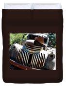 Antique Chevy Truck Duvet Cover