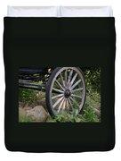 Antique Wagon Wheel  Duvet Cover