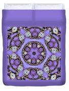 Antique Watch Kaleidoscope Duvet Cover